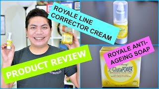 Previous Video : Hey Guys! This video is my Product Review about the Royale products that I'm currently using. Thank you for watching!Royale Business Club : http://www.royalebusinessclub.com/Products mentioned :Royale L-Glutha Power Line Corrector CreamRoyale L-Glutha Power Anti-Ageing Facial SoapThis Channel is all about my mixed ideas. Vlogs. Lifestyle. Skin Care. Hauls. Travel. Food. Product Review. DIY. Demo. Etc.Come and join me to the evolution of my Mixed Ideas! Please SUBSCRIBE & Follow Me :)JoeMixed Blog Site : http://joemixed.wordpress.com/JoeMixed Facebook Page : https://www.facebook.com/joemixedJoeMixed Instagram : http://instagram.com/joemixedFor business inquiries : joemixed01@gmail.com