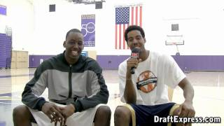 DraftExpress Exclusive: Al-Farouq Aminu Interviewed by brother Alade Aminu