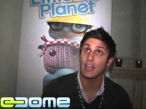 eDome LittleBigPlanet videoesittely, haastattelussa Axl Smith MTV tekijä: Elvina Hegmann