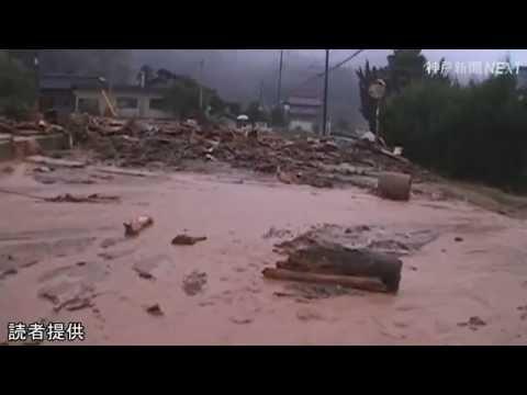 丹波市で記録的豪雨