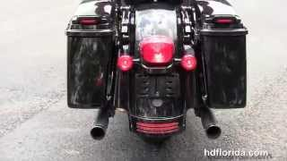 9. Used 2009 Harley Davidson Street Glide Motorcycles for sale nice pipes