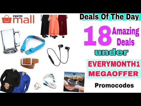 {11dec} 18 Best Cheap Paytm Deals under Everymonth1 Promocode