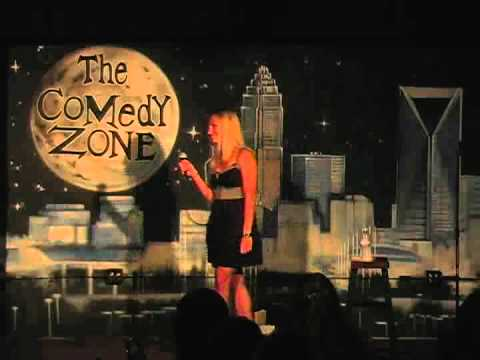 Suzanne Clavette on 7-30-12 at Graduation Night at The Comedy Zone Comedy School