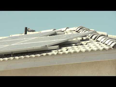 Solar panel scam alert