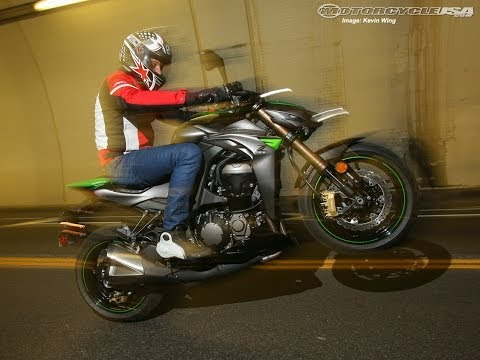 2014 Kawasaki Z1000 ABS First Ride - MotoUSA