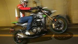 4. 2014 Kawasaki Z1000 ABS First Ride - MotoUSA