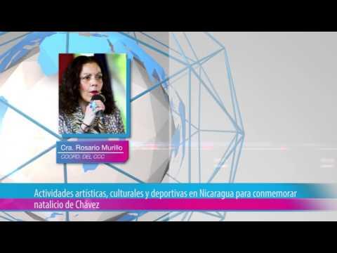Actividades artísticas, culturales y deportivas en Nicaragua para conmemorar natalicio de Chávez