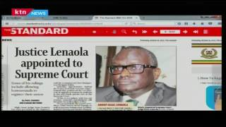This is how far Justice Lenaola has come from to finally be in the Supreme Court