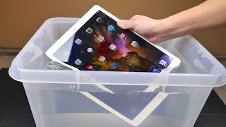iPad Pro Water Test - Waterproof or Water Resistant?