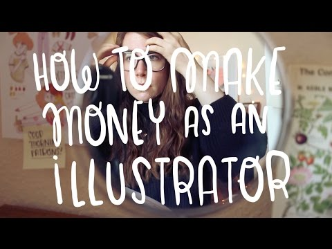 How to make money as an illustrator ~ Frannerd