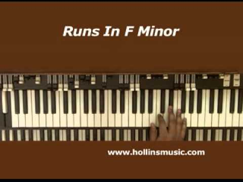 Free Organ Lesson On Runs In F Minor