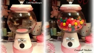 DIY: Homemade Gumball Machine