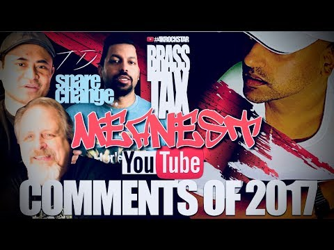 Reading My Meanest Youtube Comments of 2017 Spare Change | Technodad