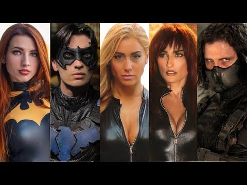 Black Widow Winter Soldier vs. Nightwing Black Canary