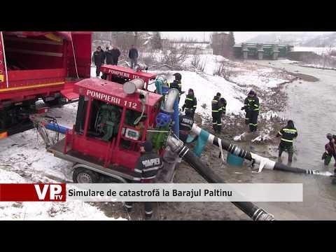 Simulare de catastrofă la Barajul Paltinu