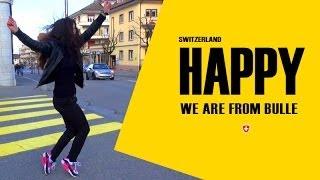 Bulle Switzerland  City new picture : We are Happy from Bulle Suisse - Pharrell's Williams
