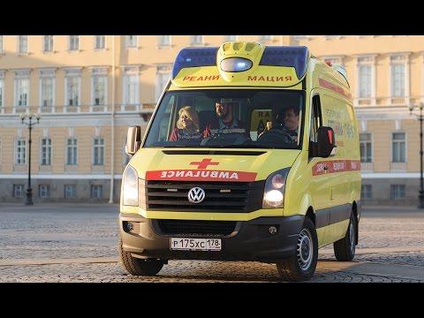 Карета скорой помощи / реанимобиль / Volkswagen crafter  /Мужской разговор онлайн видео