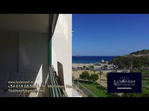 In this nice apartment on the first sea line you will love Spain even more!