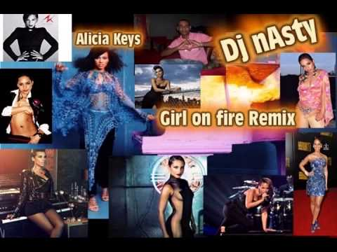girl on fire reggaeton remix