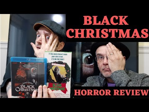 Black Christmas 1974 Blu-ray & VHS Horror Review Video! Blu-ray VHS Collection Update Movie