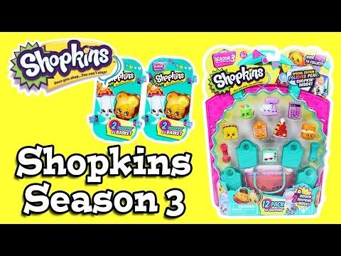 Shopkins Ep.50 - Shopkins Season 3 Baskets & Pack