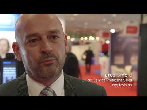 Cryptovision at 2016 Trustech, Cannes