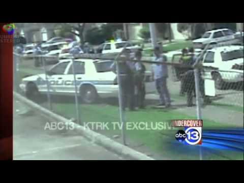 Policjanci w piątkę kopią młodego chłopaka