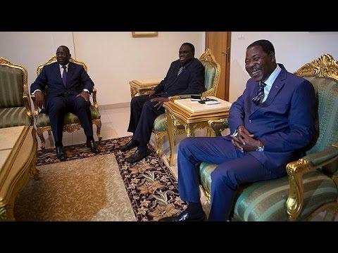 Μπουρκίνα Φάσο: Συνάντηση των ηγετών χωρών της Δυτικής Αφρικής με το στρατηγό Ντιεντερέ