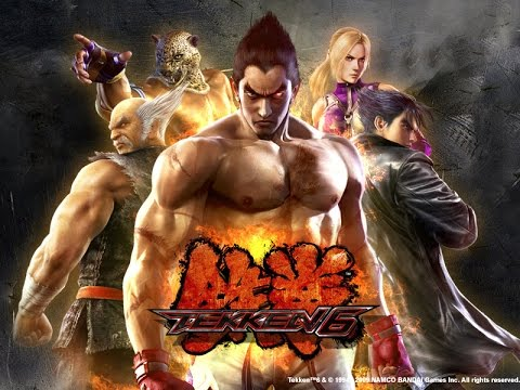 Tekken 6 Game Full movie (Mishima saga) (HD)