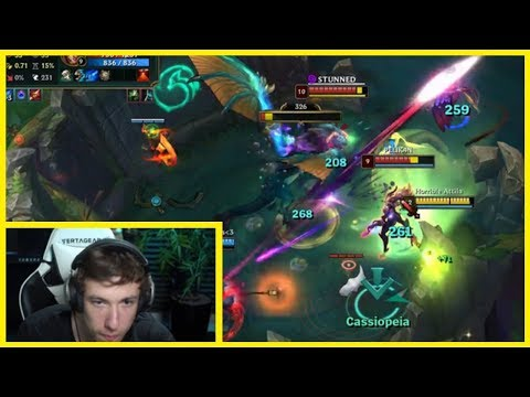 Sardoche Shows How To Handle Cassiopeia  Twitch Rivals - Best of LoL Streams #641