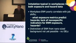 General Framework of the Safety Assessment of Nanotechnology Workers