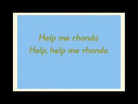 Help Me Rhonda ~ The Beach Boys