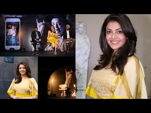 Kajal Aggarwal Launch Of Mobile App