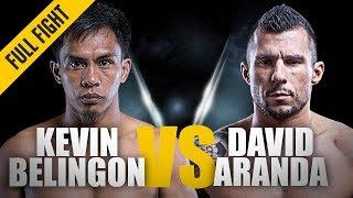 Video ONE: Full Fight | Kevin Belingon vs. David Aranda | Devastating KO | December 2013 MP3, 3GP, MP4, WEBM, AVI, FLV Oktober 2018