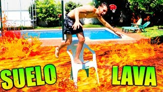 Video EL SUELO es LAVA!! FLOOR is LAVA CHALLENGE Makiman MP3, 3GP, MP4, WEBM, AVI, FLV Agustus 2018