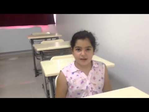 Özel Mavi Umut Etüt Merkezi Yaz Okulu İngilizce Dersi ''The Things That We Can Do''