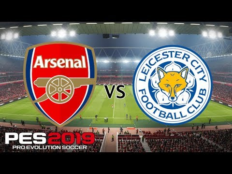 Arsenal vs Leicester - Premier League 2018/19 Season - PES 2019