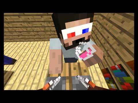 [Minecraft animation] Minecraft player School - Brewing