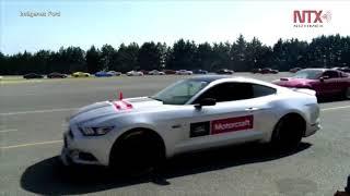Ford México rompe récord Guinness con estampida de Mustang