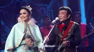 duet krisdayanti - rhoma irama lagu kerinduan, indosiar 18 nov 2017