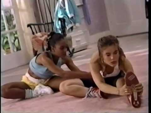 Alyssa Milano - Teen Steam Workout Video (1988)