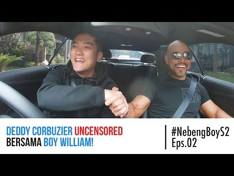 Deddy Corbuzier UNCENSORED bersama Boy William! - #NebengBoy S2 Eps 2