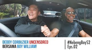 Video #NebengBoy S2 Eps 2- Deddy Corbuzier UNCENSORED bersama Boy William! MP3, 3GP, MP4, WEBM, AVI, FLV September 2018