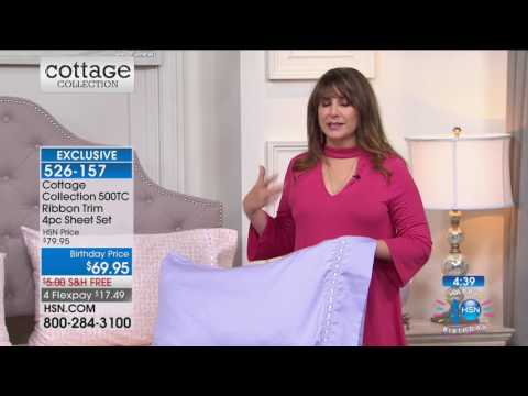 HSN | Cottage Collection Bedding Celebration 07.31.2017 - 12 PM