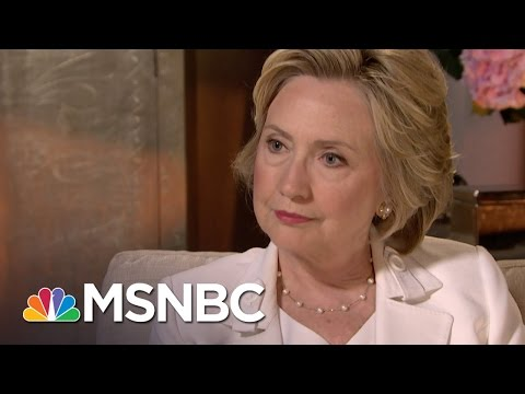 Video: Adding Insult to Injury:  Hillary's Interview with MSNBC's Andrea Mitchell