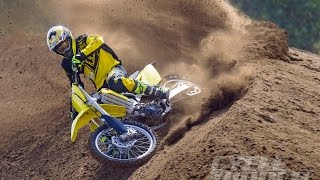9. 2016 SUZUKI RM-Z450 Was Introduced With a New Frame and Engine
