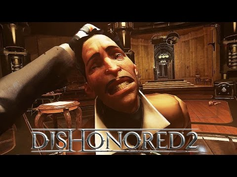Dishonored 2 - Clockwork Mansion Gameplay Video (Low Chaos) @ 1080p (60ᶠᵖˢ) HD ✔