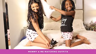 🌸👯♀️😻 Mommy & Daughter Matching Pajamas & More |  Aliexpress Try On Haul