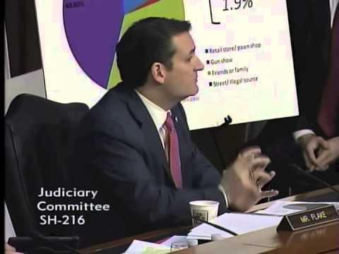 U.S. Sen. Ted Cruz Q&A at Senate Judiciary Committee Hearing on Guns