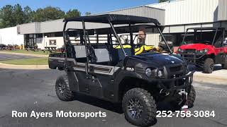 6. 2019 Kawasaki Mule PRO-FXT Ranch Edition